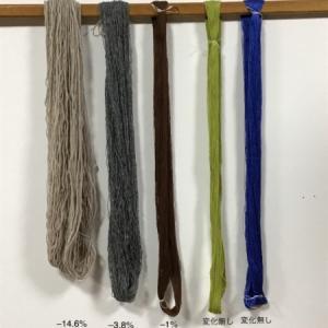 手編み用毛糸はどの位伸びる⁉️