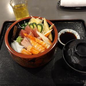 日馬和里レストランのちらし寿司