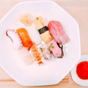 お給料とごほうびお寿司