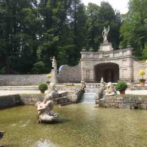 【ザルツブルク】ヘルブルン宮殿の水の仕掛け。その1