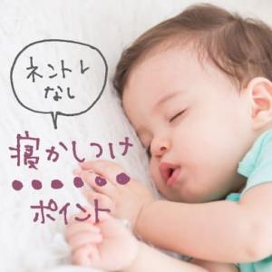 抱っこでしか寝ない子をネントレなしで19時台に寝かしつけるポイント