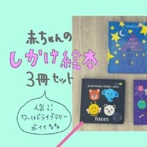 赤ちゃんのしかけ絵本3冊セットが人気なワールドライブラリーが良い!