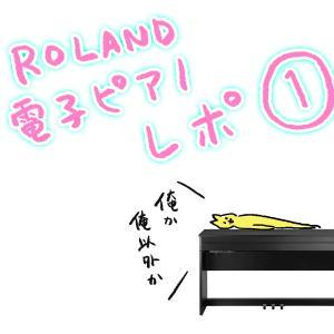 ローランド電子ピアノレポ1