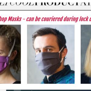 コロナ対策 南アフリカのマスク