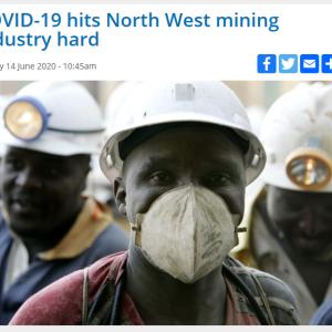 資源大国 南アフリカ ~COVID19による影響~