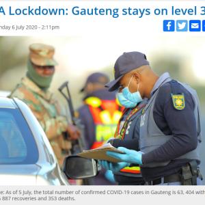 ロックダウン規制強化に後戻りしない南アフリカ ~経済活動を優先~