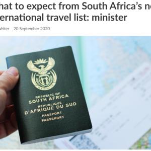 海外渡航が可能な国をリストアップ中 ~南アフリカ~