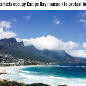 ケープタウンの宿泊施設を占拠 社会的弱者の訴え ~南アフリカ~