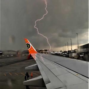 雷が多いヨハネスブルグ