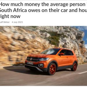 無理して車を買っている人が多いような感じ ~南アフリカ~