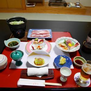 瀬見温泉 四季の宿 まごろく 夕食編