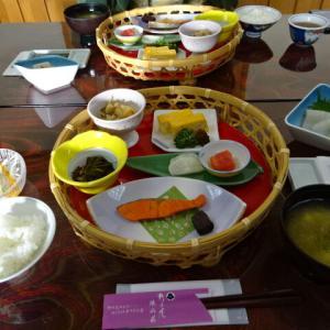 野の花 焼山荘 朝食編