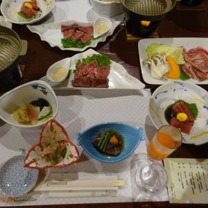 ウェスパ椿山 夕食・朝食編