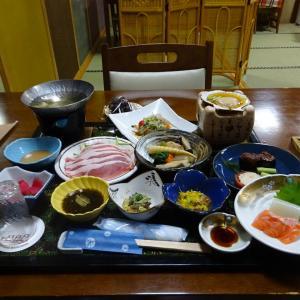 板留温泉 旅の宿 斉川 夕食編