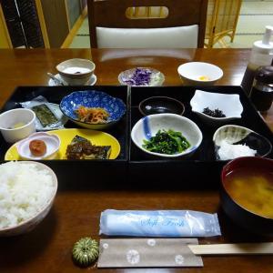 板留温泉 旅の宿 斉川 朝食編
