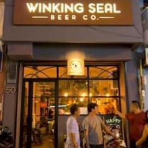 WINKING SEAL♡可愛いアザラシのクラフトビール♪ホーチミン1区
