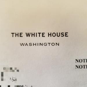 大統領から届いた手紙