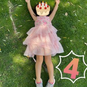 Happy 4th Birthday♡