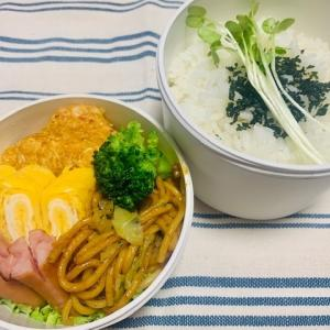 【2020/4/9】キャベツのもっちり焼き弁当(¥209)