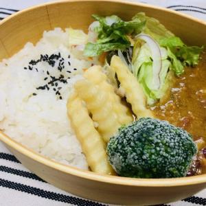 【2020/09/01】ひよこ豆のキーマカレー弁当(¥60)