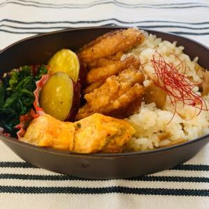 【2020/09/09】秋の炊き込みご飯弁当(¥285)