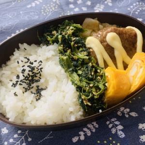 【2020/10/05】秋のハンバーグ弁当(¥144)