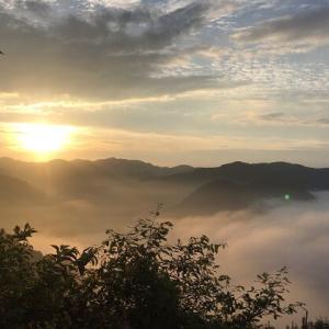 【岡山】西山高原キャンプ場でソロキャンしてきた。【雲海あり】