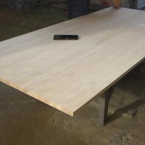 ダイニングテーブルをこたつに改修