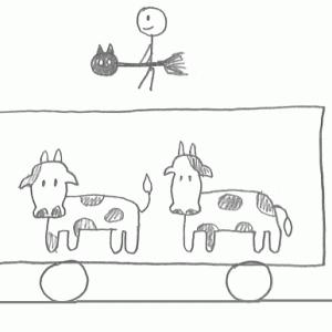 『魔女の宅急便』で学ぶ貨物列車の雑学 「二軸車」