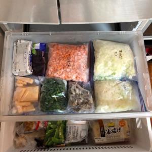 我が家の冷凍庫