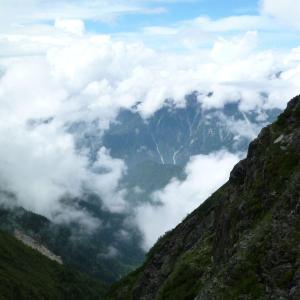 【日本】白出沢ルートで日帰り奥穂高岳登山(途中で折り返し)[Japan] Day trip to Shiradashizawa route, climbing Okuhotakadake (turn back in the middle)