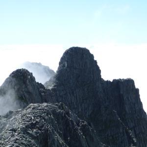 【日本】西穂高岳から奥穂高岳縦走 [Japan] Traverse from Mt. Nishihotaka to Mt. Okuhodaka