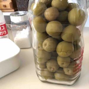 梅酒の梅。