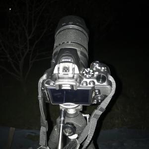 ―軌跡写真を撮る― 山々サンの奮闘記(第一夜)