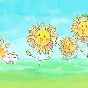 【花】夏の花を窓辺から眺めて…♪【サフィニア・ポーチュラカ・サンパチェンス】