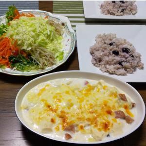 ダイエットにお勧め!レンジで簡単!豆腐のヘルシーグラタン