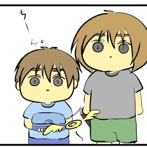 【虫注意】親がパニックを起こすと子は冷静になる