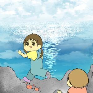 海で見つけた不思議な生き物①