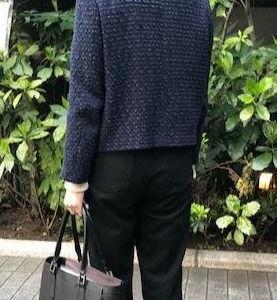 濱野のバッグと学校スタイル