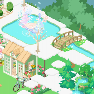 大変そう! ピグライフ 新イベント 雨上がりの紫陽花カフェ 必要な紫陽花の目安は? ハイレア出た
