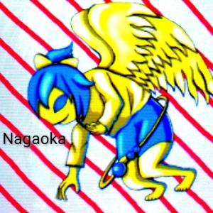 黄金の翼をもった天使