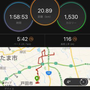 川口マラソン大会
