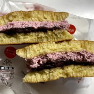 セブンスイーツ 新発売「苺ホイップと粒あんの生どら焼き」224円(税込)