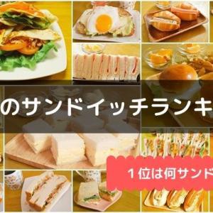 4月の朝食サンドランキング