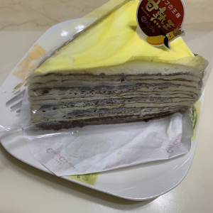 【ケーキ】チョコバナナミルクレープ