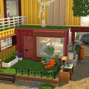 お試しEcoLifestyle 3 キャンドル作りとかわいいジャンクな庭【シムズ4】
