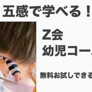 【お試し無料】Z会幼児コースは親子で五感で学べる!口コミ・感想