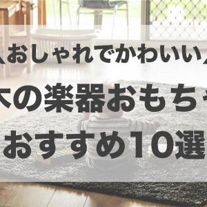 おしゃれな木の楽器おもちゃおすすめ10選!