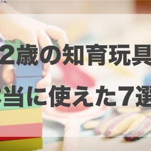 【決定版】使える!2歳知育玩具おすすめ7選