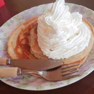 悪どいパンケーキ完成